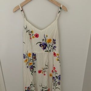 Old Navy Floral Print Cami Dress